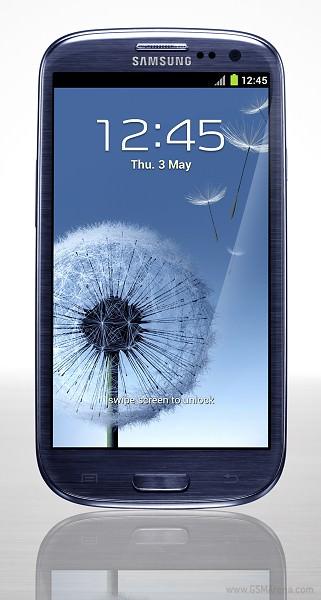 Samsung Galaxy S3 albastru fata