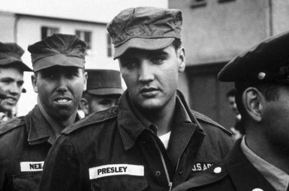 Elvis în armată