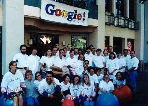 Google în 1999 la începuturi