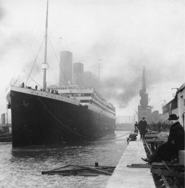 nava Titanic înainte de a naviga