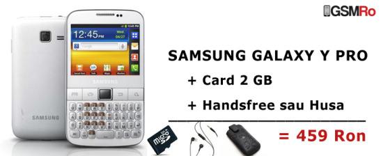 Samsung Galaxy Y Pro