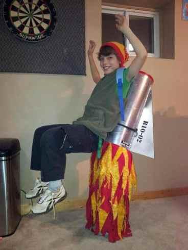Costum racheta Halloween
