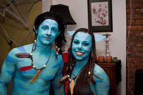 Costume Avatar de Halloween