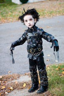 Costumul de Halloween Edward, omul foarfeca