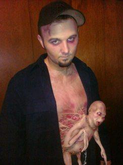 Un costum deosebit de Halloween