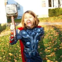 Un mic Thor de Halloween