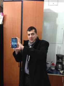 Cat de mare e Samsung Galaxy Note 2