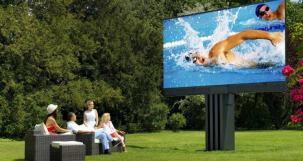 Televizor foarte mare 8