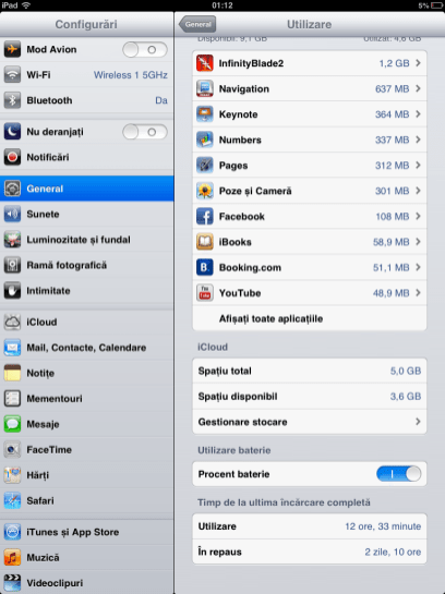 Autonomie iPad mini 2