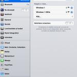 Conectivitate iPad mini 1