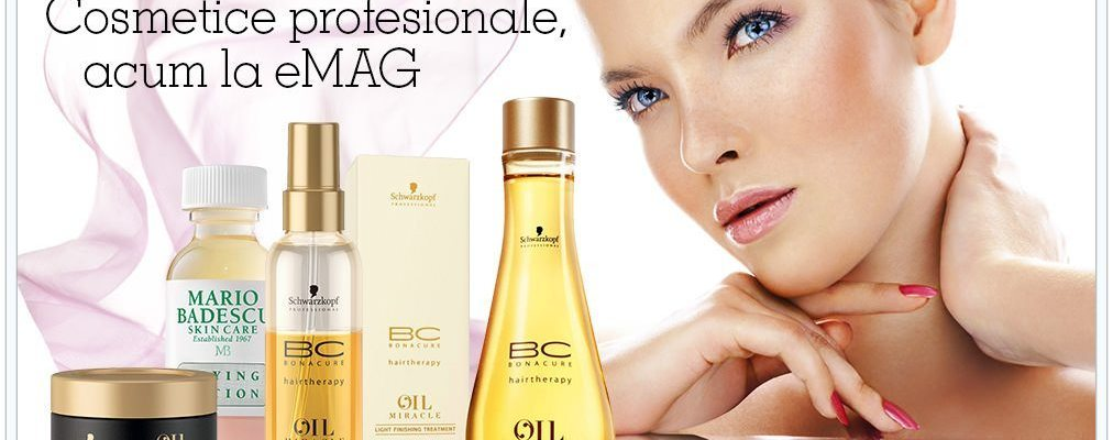 De azi poţi cumpăra şi cosmetice de la eMAG