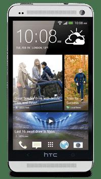 HTC One pe alb