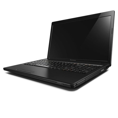 Laptop Lenovo G585 deschis lateral