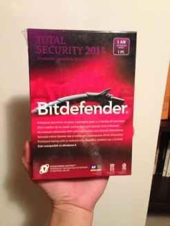 Licenta BitDefender Total Security 2013 fata