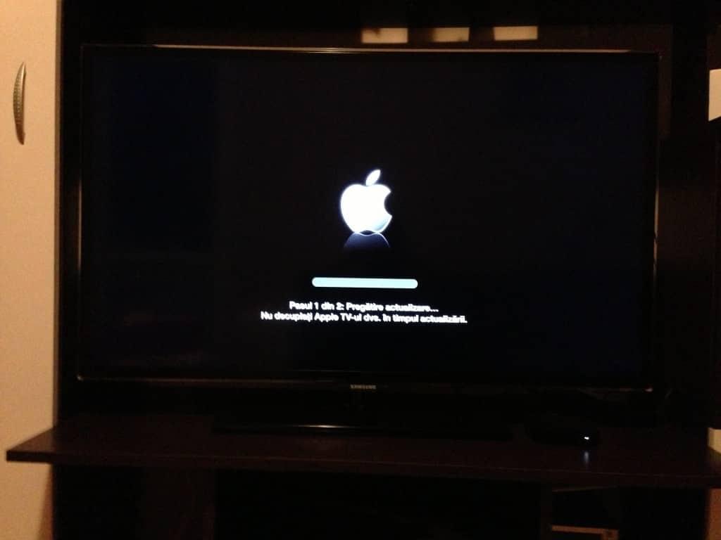 Update soft Apple TV