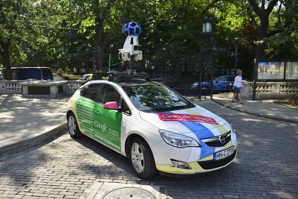 Google Street View Romania