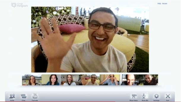 Aplicatie Google Hangouts