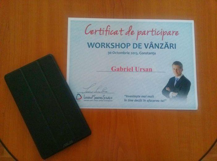 Diploma participare
