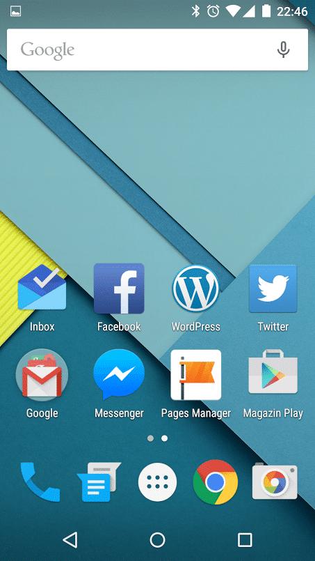 Android 5.0 poza 3