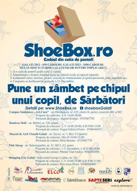 Shoe Box Galati