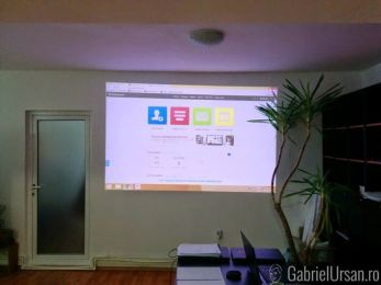 Poza 10 Videoproiector portabil BenQ GP30