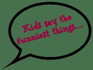 copiii spun lucruri trasnite