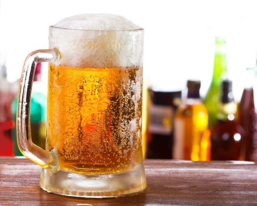 burta de bere