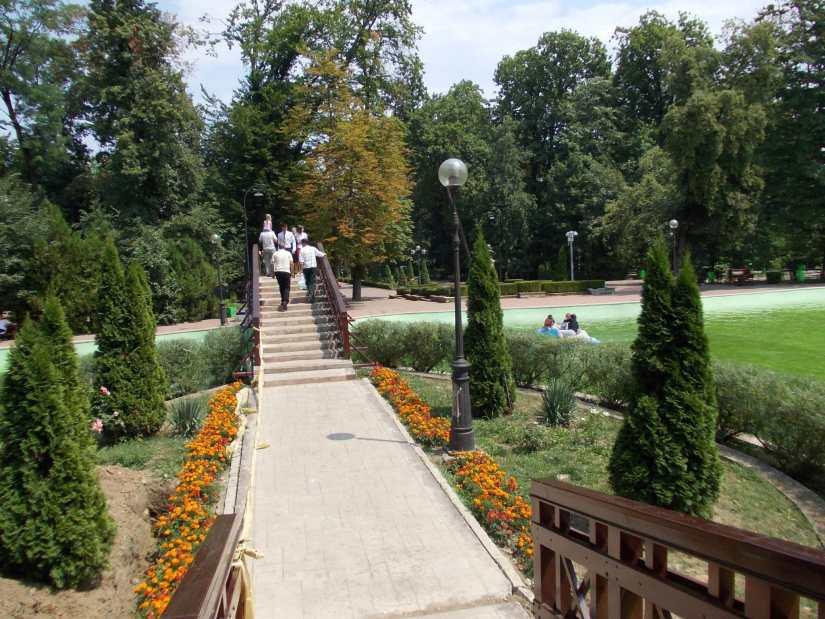 Parcul Mihai Eminescu din Botosani