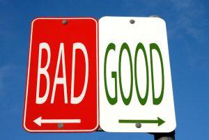 good-bad-street-sign