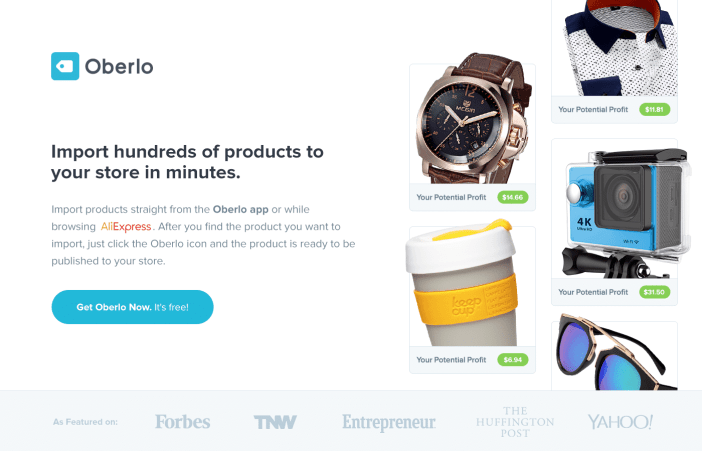Shopify Magazin Online Oberlo