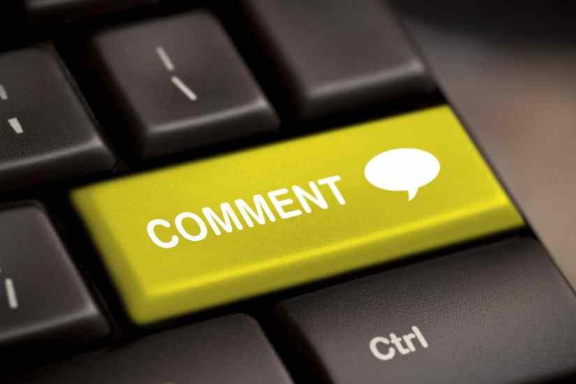 Comentarii pe blog