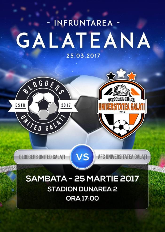 Infruntarea Galateana la Fotbal - Bloggeri vs Fete