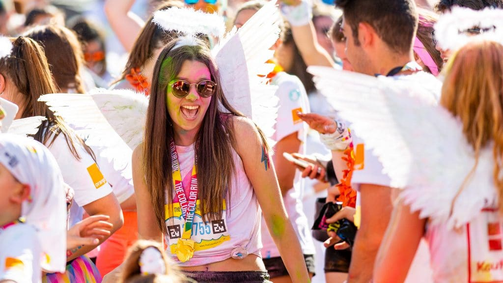 Color Run Galati
