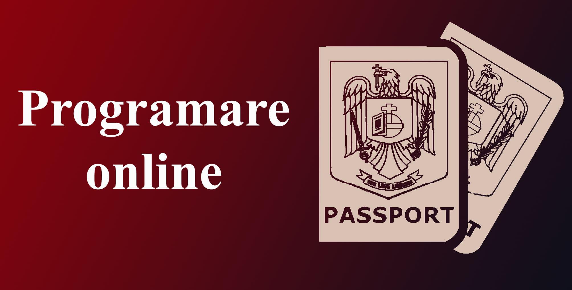 Programare pasapoarte online