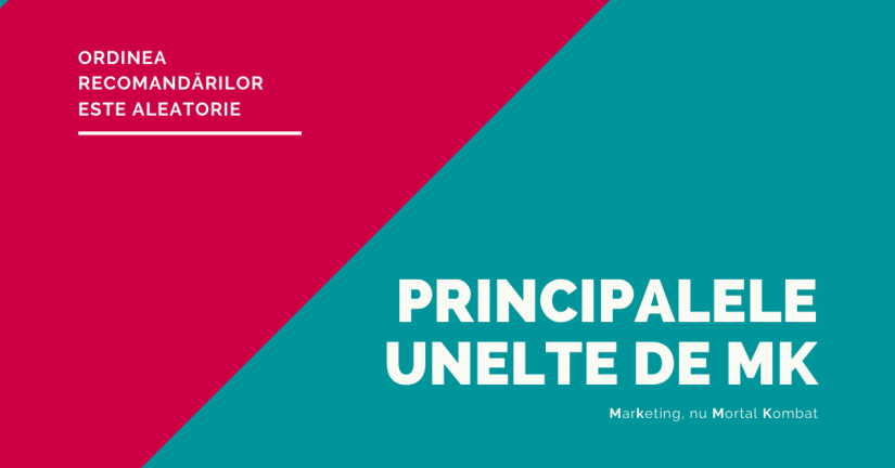 Recomandari unelte de marketing