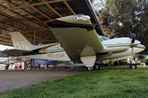 Barón: Beechcraft B55 CC-PGN (foto: Carlos Ay).