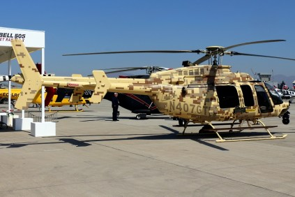 El 407GT muestra su configuración limpia y sin armamentos externos (foto: Carlos Ay).
