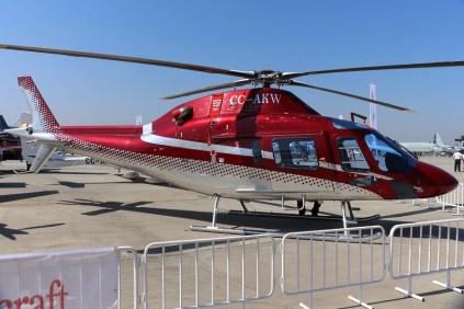El primer AW119Kx estaba destinado a un cliente corporativo no determinado (foto: Carlos Ay).