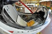 El cockpit del 3-A-301. (Foto: Esteban Brea)