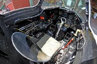 Cockpit del C-071. (Foto: Esteban Brea)