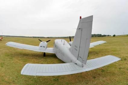 El PG-321 con su nuevo esquema de gris baja visibilidad. (Foto: Esteban Brea)