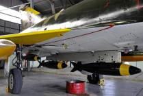 Para esta ocasión el C-408 fue configurado con cuatro bombas de 250 Kg. (Foto: Mauricio Chiofalo)