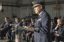 Discurso del Jefe del Estado Mayor del Aire (JEMA) el General Francisco Javier García Arnáiz (foto: José Luis Franco Laguna)