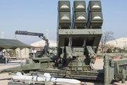 Sistema de defensa aérea Spada 2000 con el misil Aspide para defensa aérea de media distancia (foto: José Luis Franco)