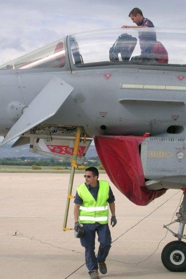 Escalerilla de acceso al cockpit (foto: Fernando Puppio)