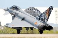 Los Eurofighters del Ala 14 fueron ltambien realizaron misiones BAP (foto: José Luis Franco Laguna).