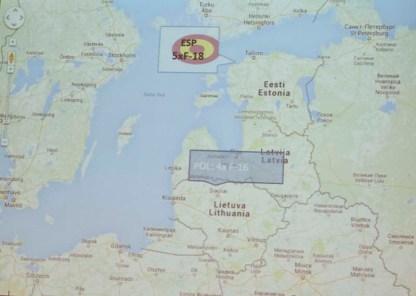Ubicación geográfica de la base de Amari (imagen: EA)