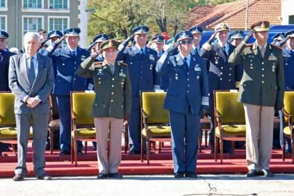 Autoridades que presidieron la ceremonia. (Foto: Esteban Brea)