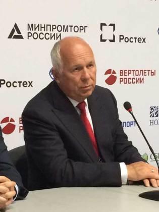 Sergey Chémezov, CEO de Rostec (foto: Rostec).