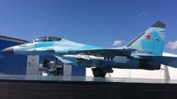 Prototipo del MiG-35 expuesto en MASK 2017 (foto: Rostec).